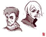 Rough Character Studies