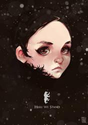 Lyanna Mormont by vinciruz
