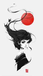 That One Geisha by vinciruz