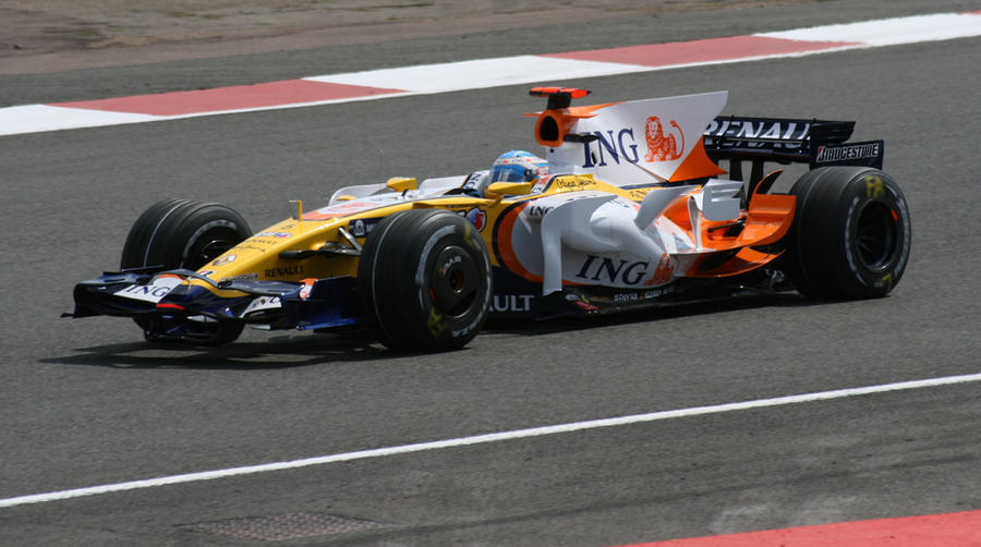 Fernando Alonso 2008 2 by rosswillett