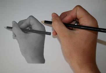 Hand 'Drawing' by rosswillett