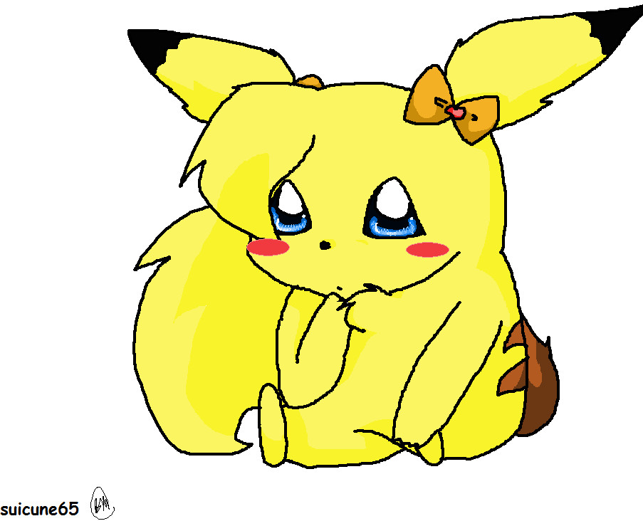 girl pikachu by crazy-love2draw on DeviantArt