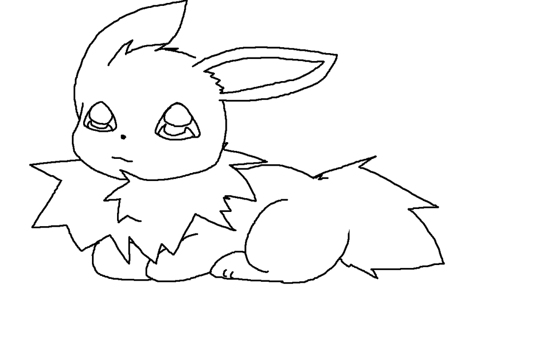 Uncategorized Jolteon Coloring Pages baby jolteon by crazy love2draw on deviantart love2draw