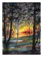 Sublime desolation  by SALTWatercolors