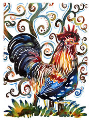 Little Yupo rooster no. 3
