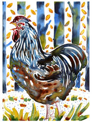 Yupo rooster no. 4