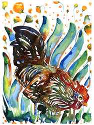 Little Yupo rooster no. 5
