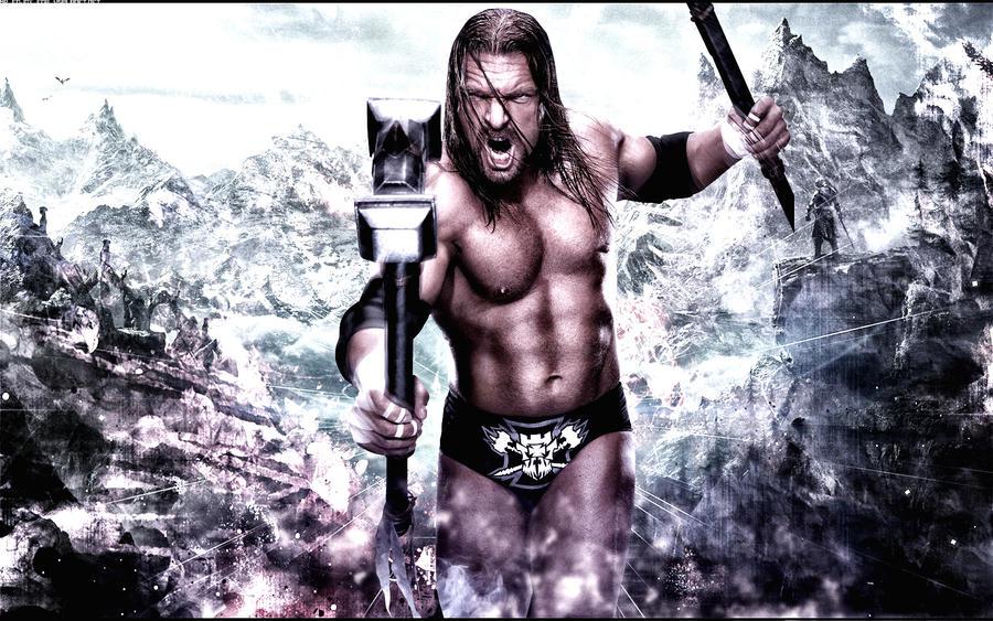 Triple H Wallpaper By Mr Enjoy