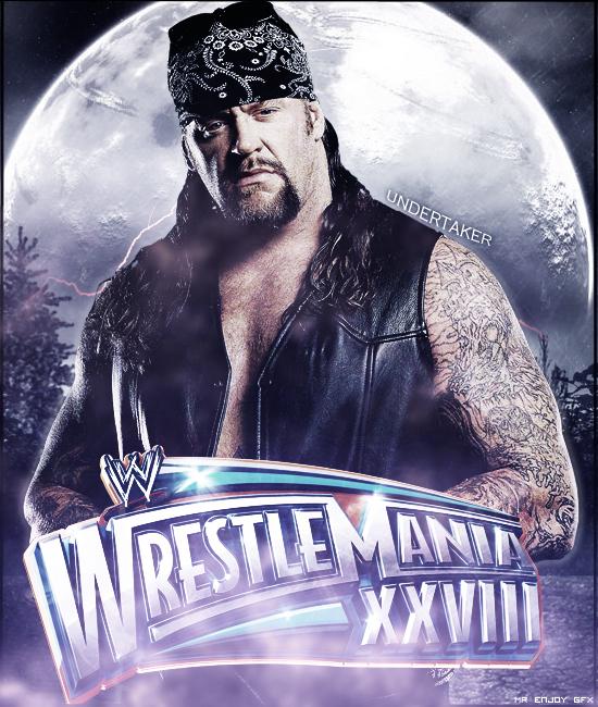 WWE WrestleMania XXVIII by Mr-Enjoy
