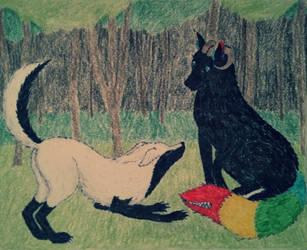 Feliz aniversario para Neurca by CachorroSenhorTorrao