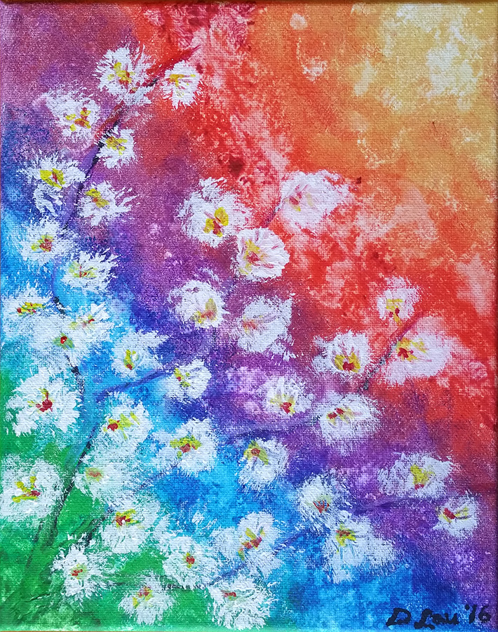 Reaching for the Sun Painting by lani-enigma