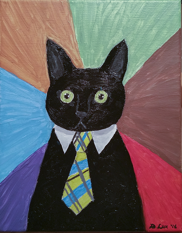 Business Cat by lani-enigma