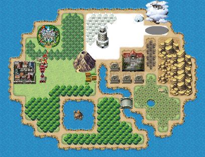 RPG Maker MV Map: File Island