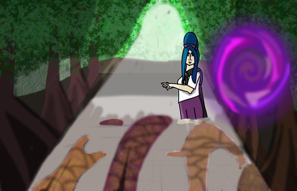 Monika In Fantasy Forrest by RockitStorm