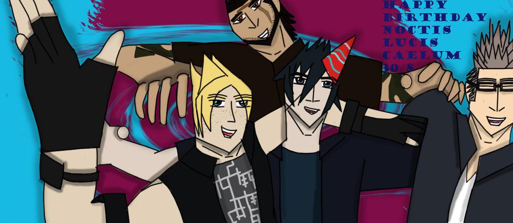 Happy Birthday Noctis! by RockitStorm