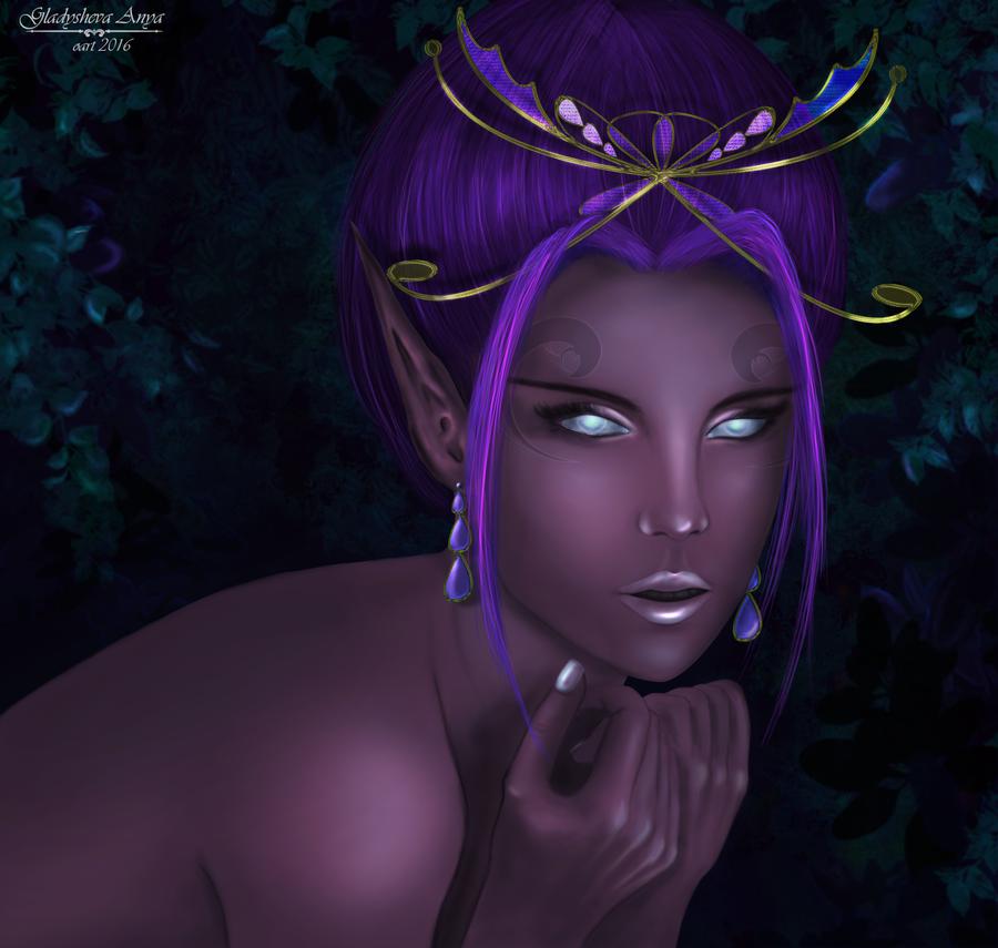 Elf princess by Anylev