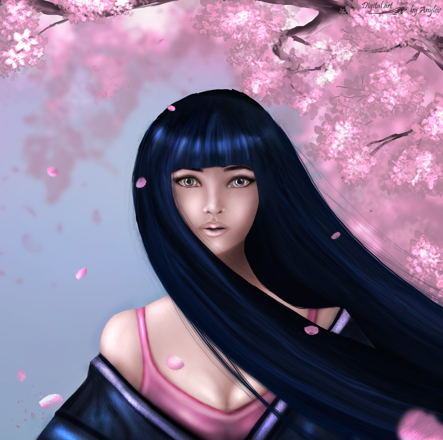 Sakura girl by Anylev