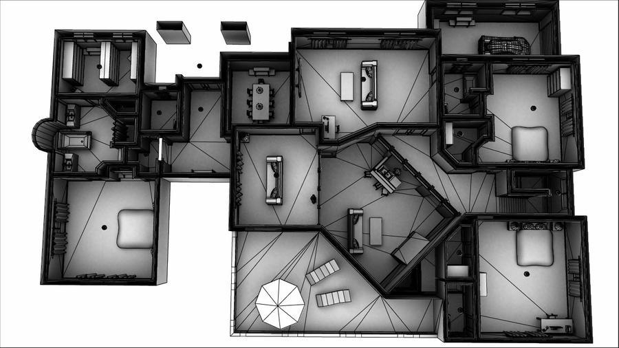 house interior model render1 by bbeaulieu84 on DeviantArt