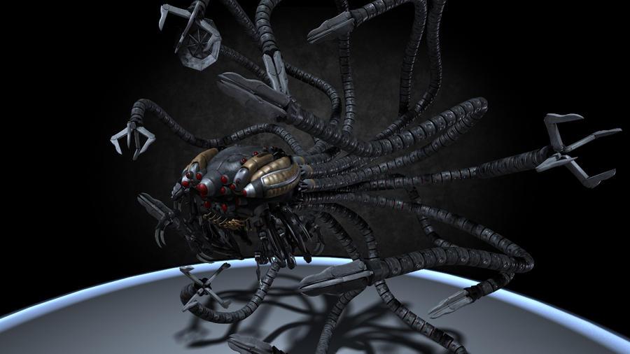 action-figure-hot-toys-matrix-sentinel-12 | Movie & TV Robopedia ...
