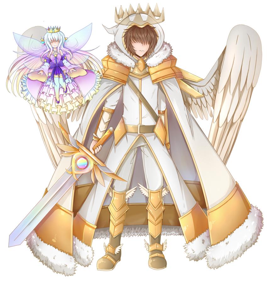 King Summoner Of The Gachaverse By Purorange On DeviantArt