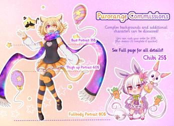 Commission Sheet! by Purorange