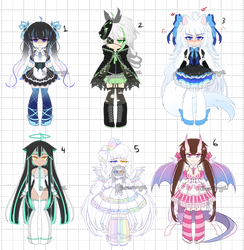 Adoptable Set 1 [CLOSED] Auction