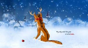 Wolf Reindeer Antlers by WolfKodi
