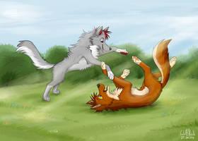 Kooper and Kodi by WolfKodi