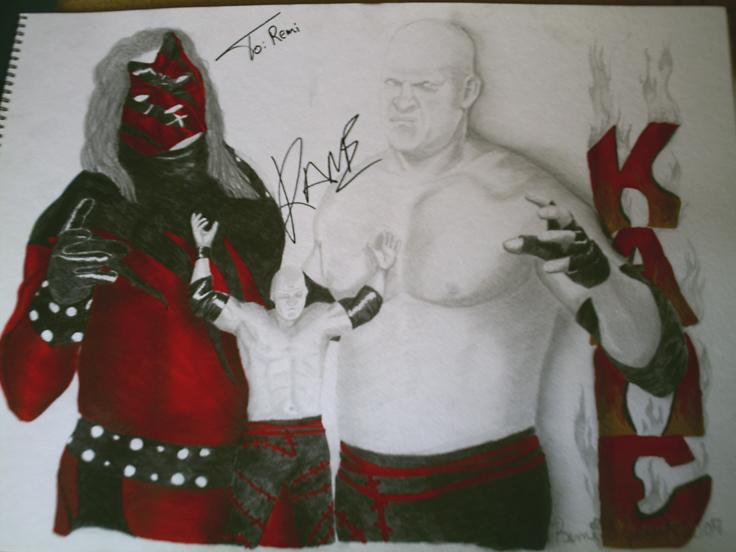 Autographed Kane by remizart