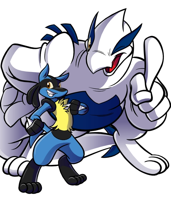 -Lucario-Sama And Lugia-Sama- By Pokelai On DeviantArt