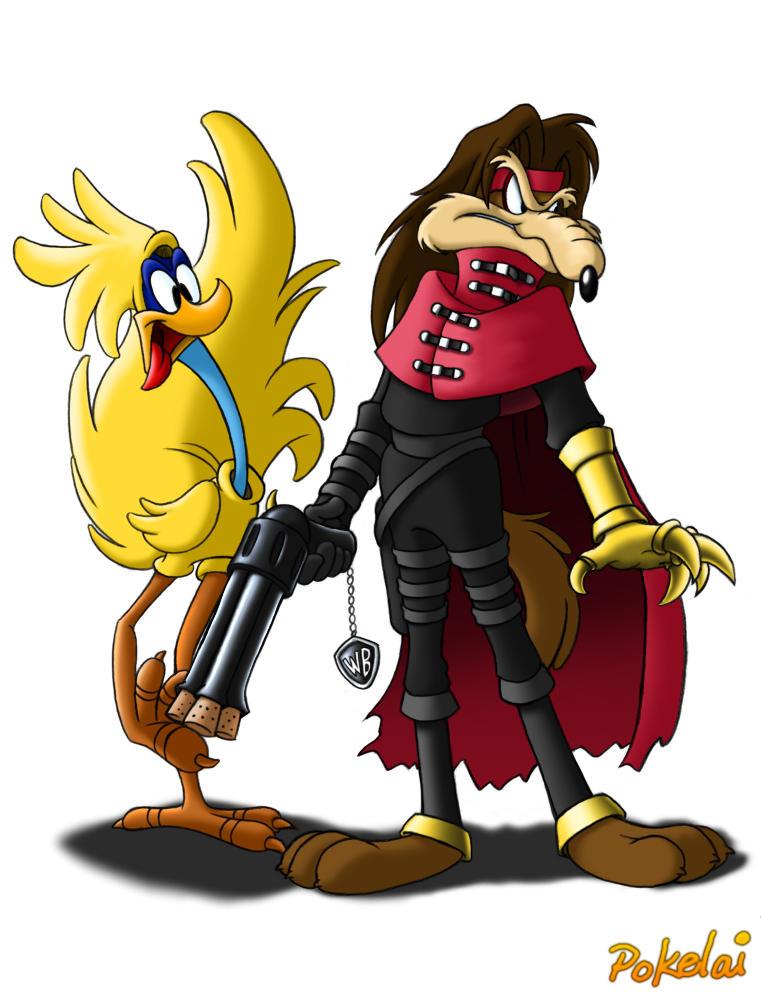 -- Big Bird and Gunner -- by Pokelai
