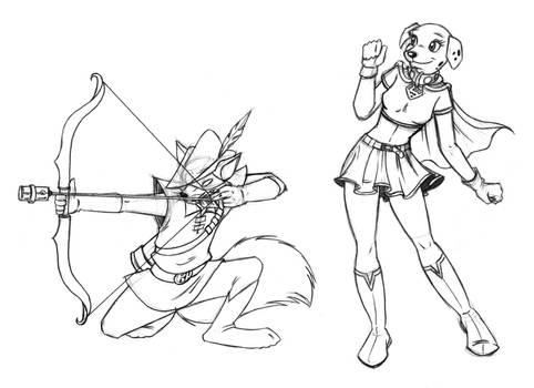 -- Robin Hood Jr and Krysta --