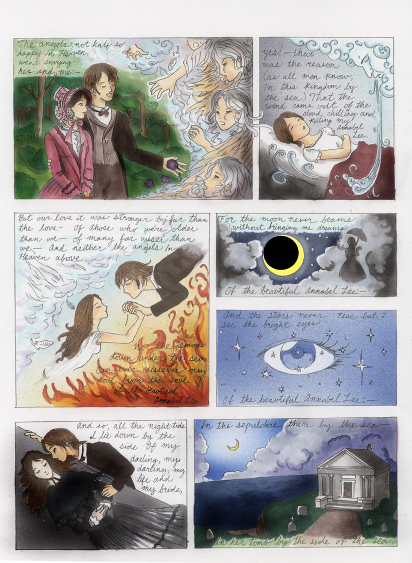 Annabel Lee page 2 by Rhea-Batz