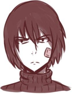 Just sketch P: by ScarletMazoku