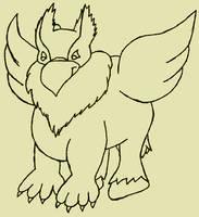 Hippogriff by ArathenMerathiel