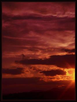 Manipulated sunset - 16.04.08