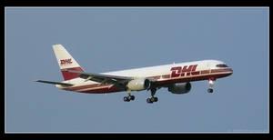 DHL B757