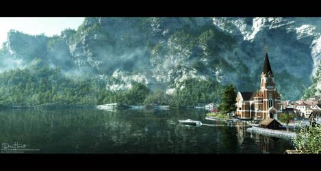 Little Cute Lake Village