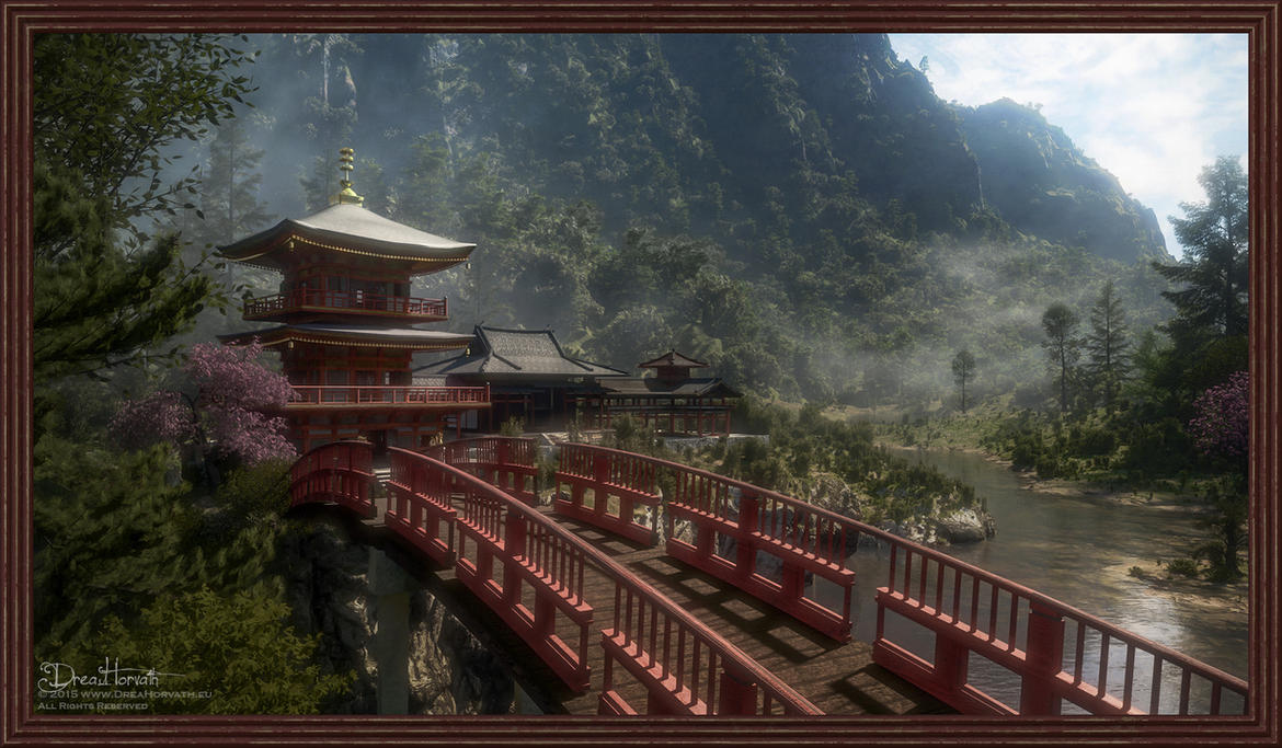 Temple in the Valley by 00AngelicDevil00