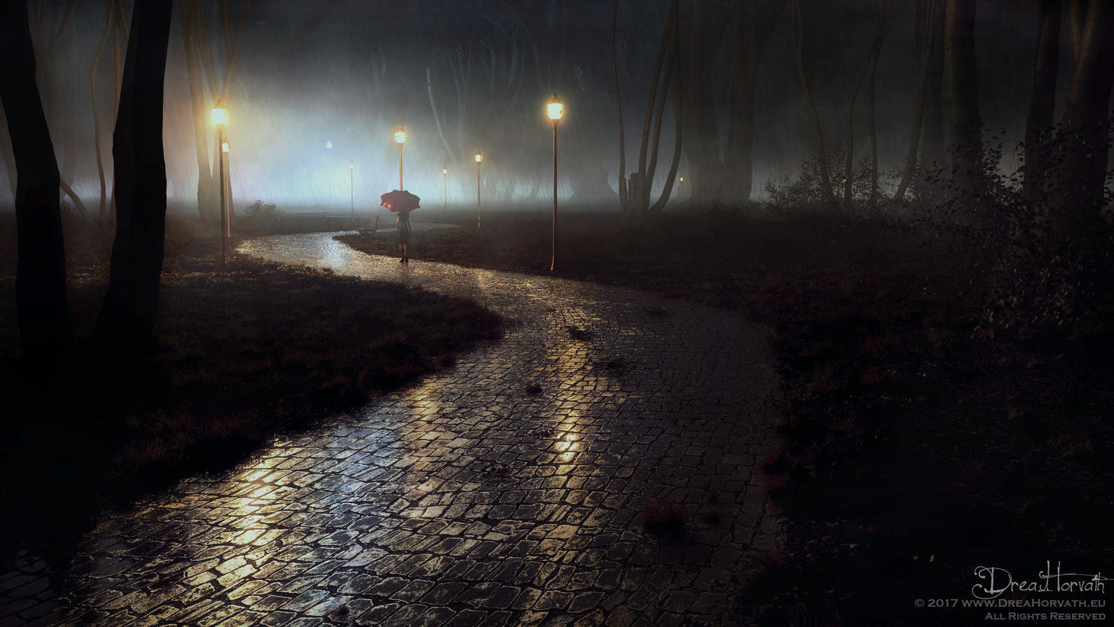 Rainy Night by 00AngelicDevil00
