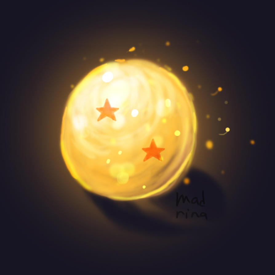 2 Stars Dragon Ball by madna29