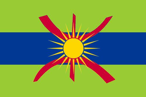 Imazighenia-Tuaregia flag by ZemplinTemplar