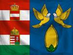 A-H colonial flags - Nicobar Islands (textured)
