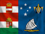 A-H colonial flags - Solomon Islands (textured)