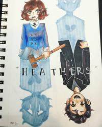 Heathers [Veronica Sawyer n' Jason Dean] by snakercow