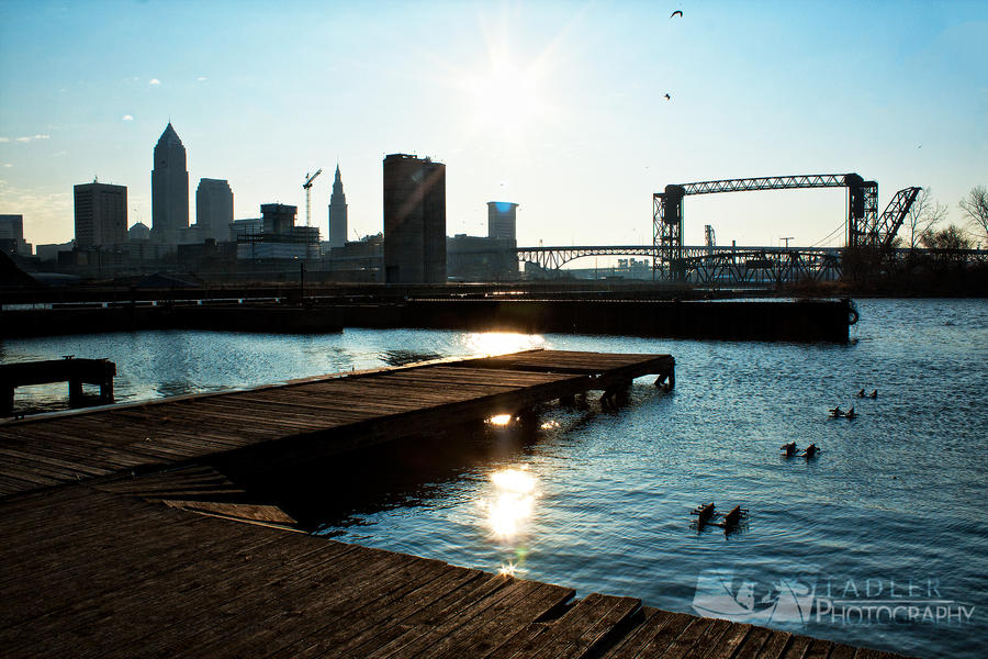 Cleveland Coast Guard Dock by shaguar0508