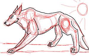 rough wolf tutorial by kinja-blackrose2