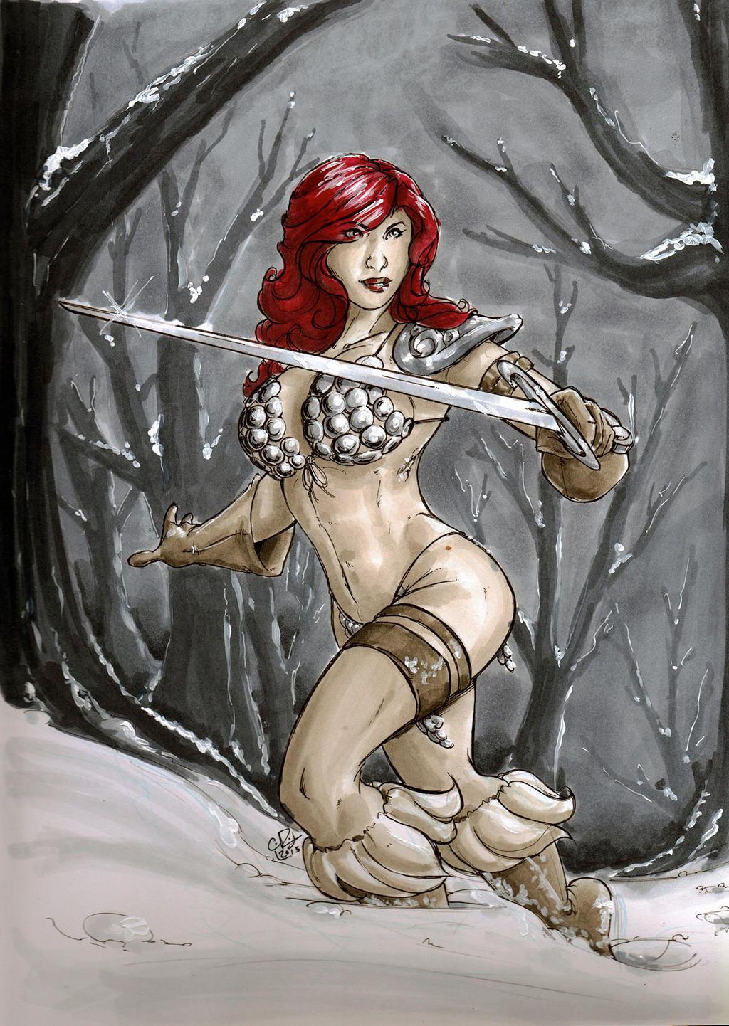 Red Sonja by chrisrichmond