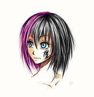 Colorfull Punk Girl by Zanktus