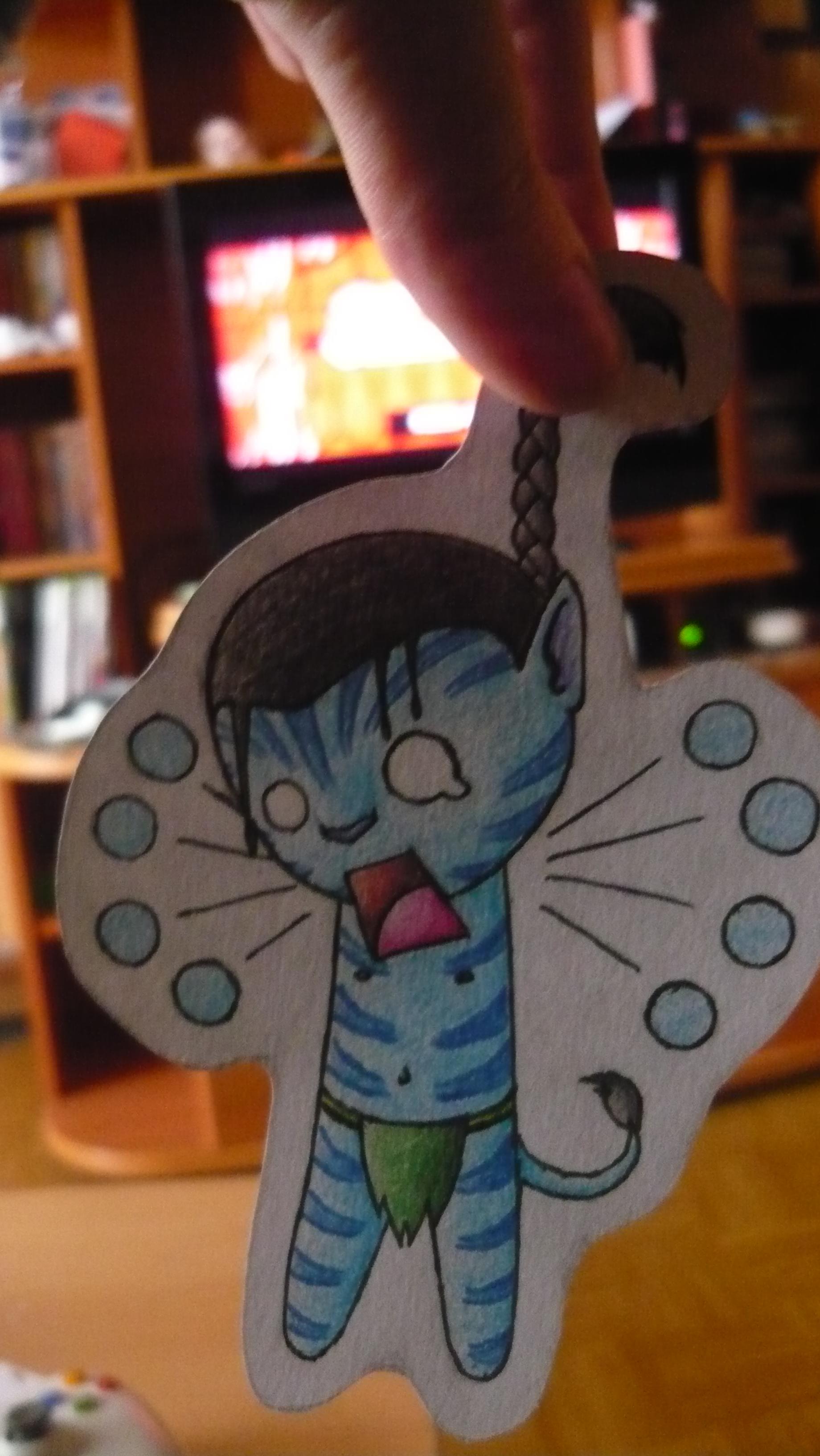 Jake Sully Paper Child by Kisviki96